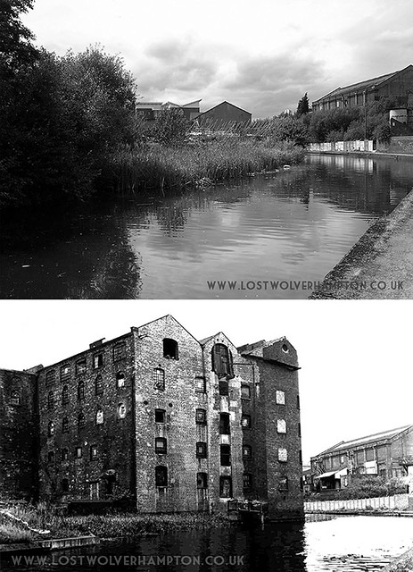 "No.2 on the map was The Union Mill"". The  picture show its  canal side position."