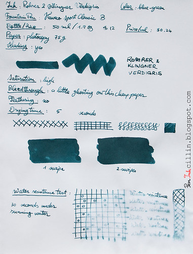 Rohrer & Klingner Verdigris on photocopy