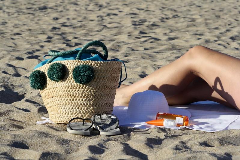 capazo de playa