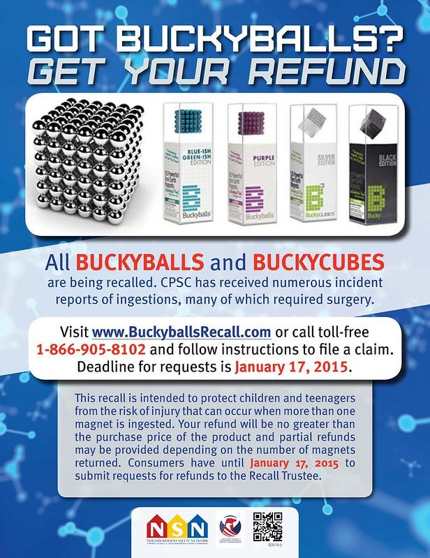 Buckyball Refund Poster
