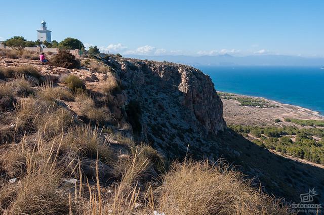 El faro de santa pola el mejor mirador al sur de alicante - Cabo santa pola ...