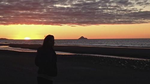 sunset beach flickr opotiki nouvellezélande nouvellezélande