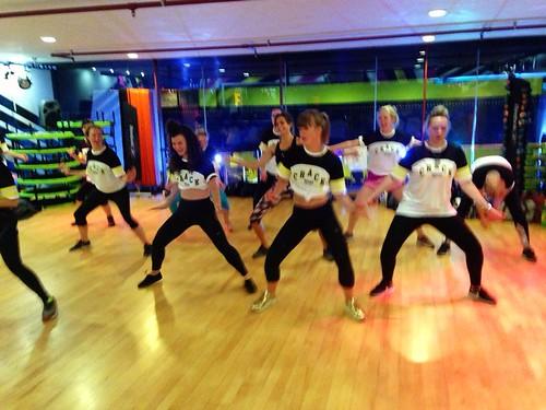 Dancehall dancing