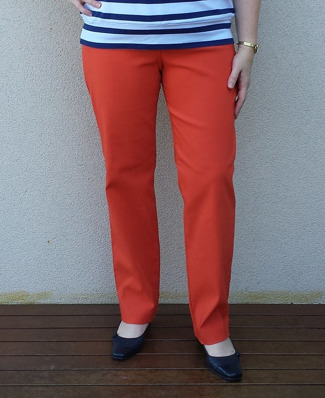 StyleARC Barb pants in stretch bengaline