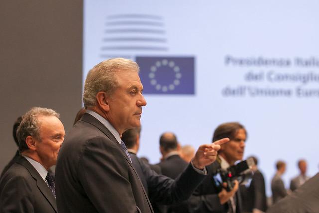 Συμμετοχή ΥΕΘΑ Δ. Αβραμόπουλου στο άτυπο Συμβούλιο Υπουργών Άμυνας των χωρών της Ε.Ε. (Μιλάνο 2014)