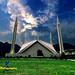 Faisal Mosque by Omer Faruki
