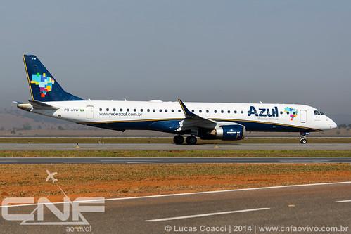 Embraer 195 Azul Linhas Aéreas PR-AYW