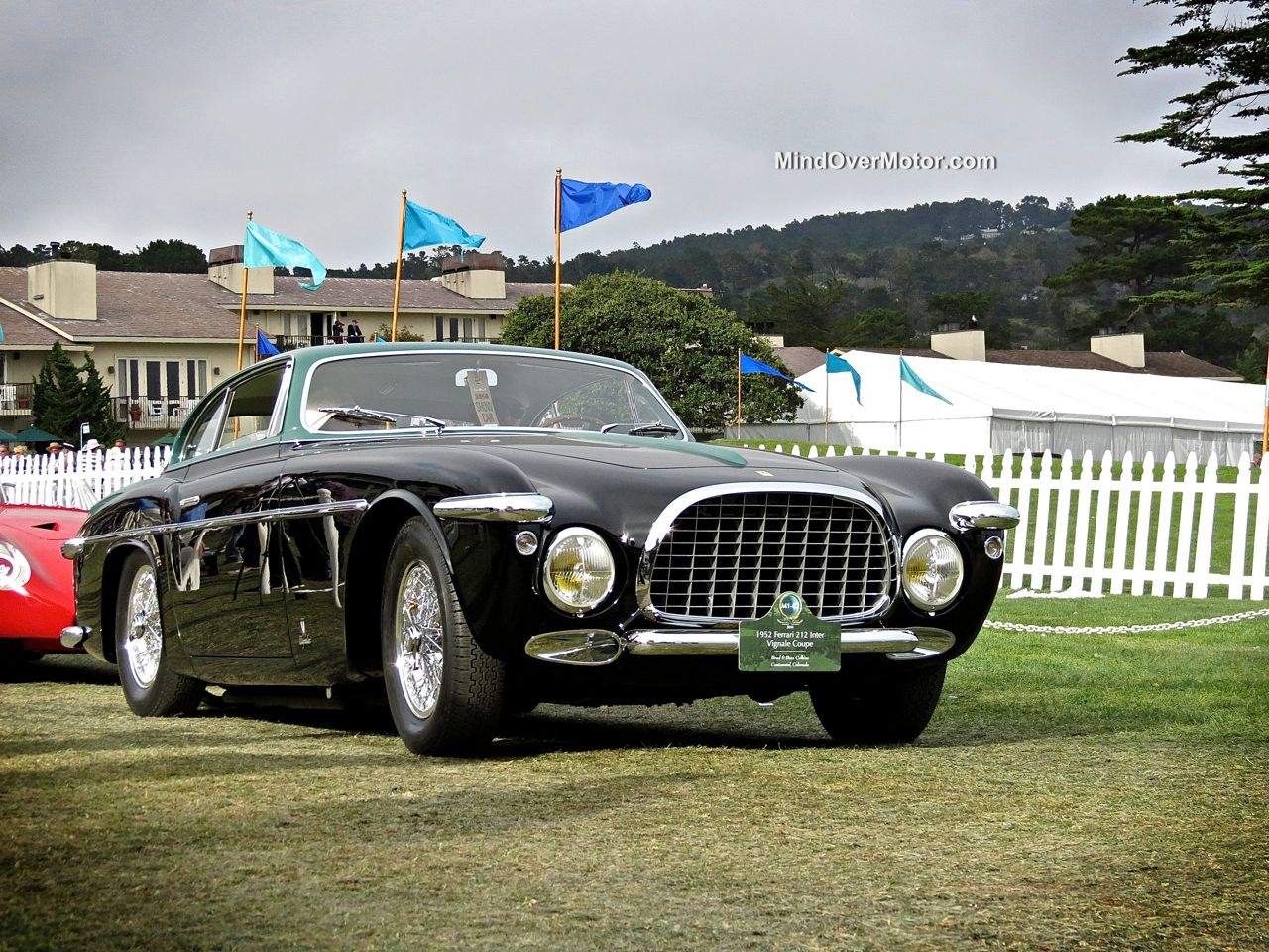 Pebble Beach 2014 Ferrari 212 Inter Vignale Coupe