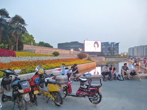 Zhejiang-Hangzhou-Quartier historique-Soir (11) - Copie