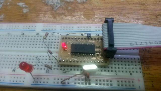DsPic33FJ32MC202 SMD Dip Dönüştürücü