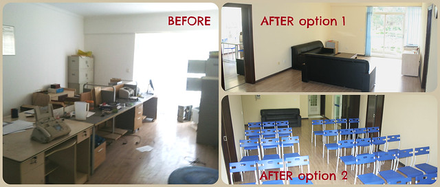 Before and After Office