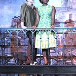 Pictured L-R: Jim Hogan (Huey) Aisha Jackson (Felicia) Photo P. Switzer Photography 2014 -