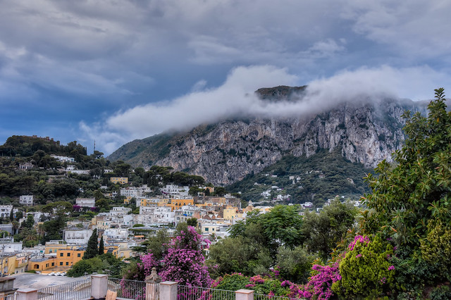 Clouds Over Capri