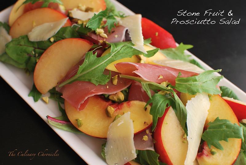 Stone Fruit & Prosciutto Salad
