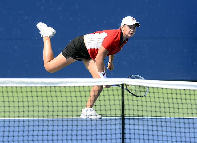 2014 US Open (Tennis) - Tournament - Ashleigh Barty
