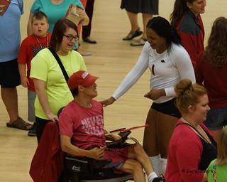 University of Arkansas vs Tennessee State University Volleyball