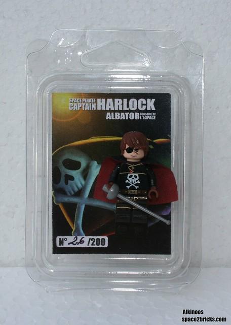 Albator, Captain Harlock Lego p1