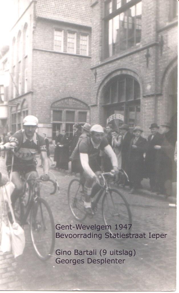 Gent-Wevelgem 1947 - Gino Bartali e Georges Desplenter