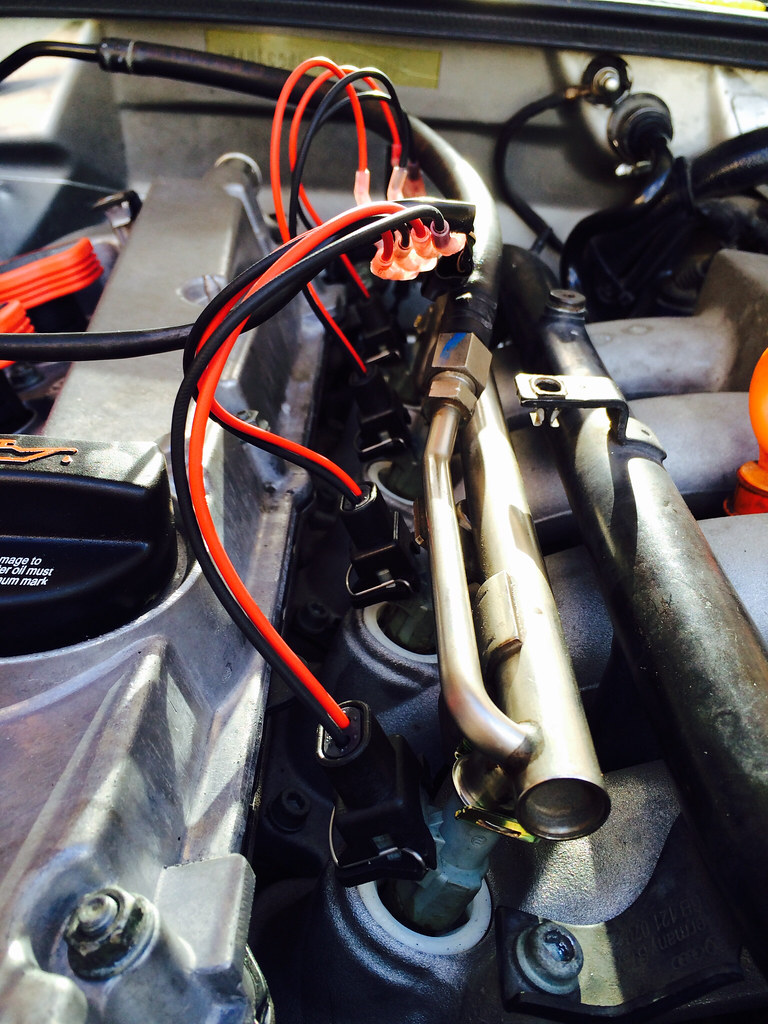 Diy Fuel Injector Harness Repair Wiring Loom Home Depot Cylinders 2 And 4 Looked Like This Cyl Shown