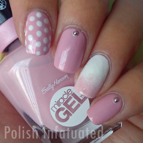 pink and white gradient