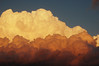 Nubes a la tarde