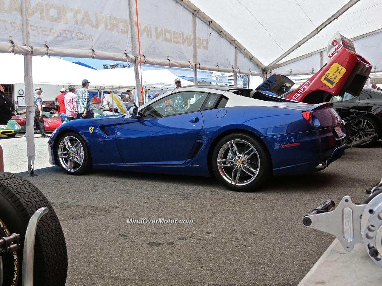 Ferrari 599 SA Aperta Laguna Seca