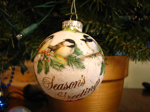 christmas card ornaments - Christmas Card Ornaments
