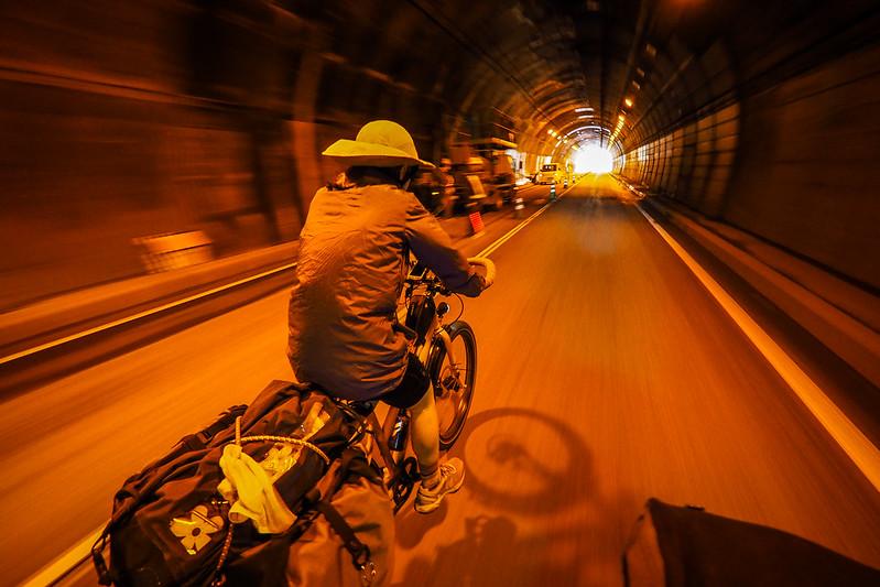 Tunnels on the Nissho Pass, Hokkaido, Japan