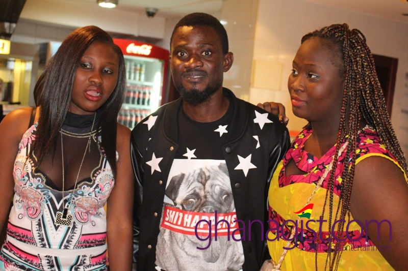 Bismark Odei and fans