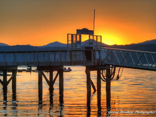 sunset water docks pier hoodcanal unionwa olympuse3 hoodcanalmarina