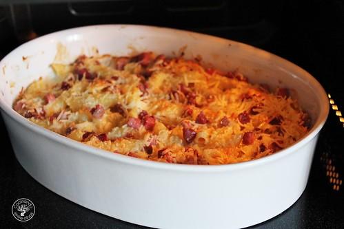 Macarrones con gorgonzola y jamón www.cocinandoentreolivos.com (10)