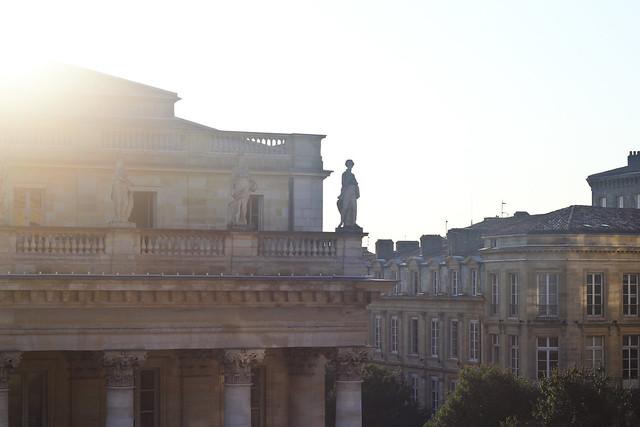 Sunrise in Bordeaux