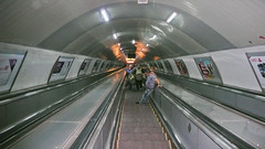 To nie London Underground, ale metro w Tbilisi.
