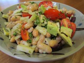White Bean Salad with Fennel and Avocado