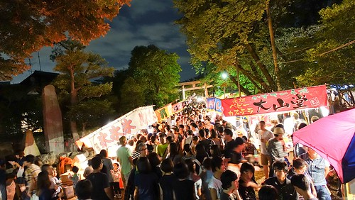碑文谷祭り