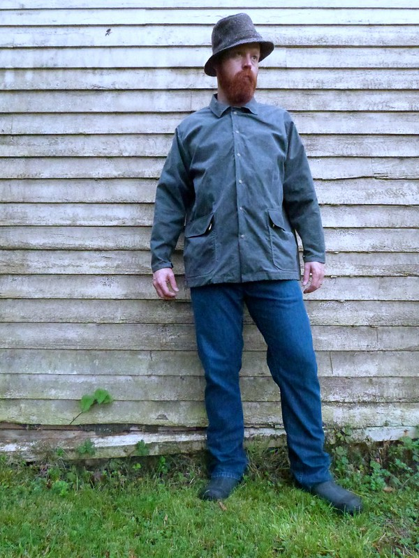 Waxed Canvas Jacket #1