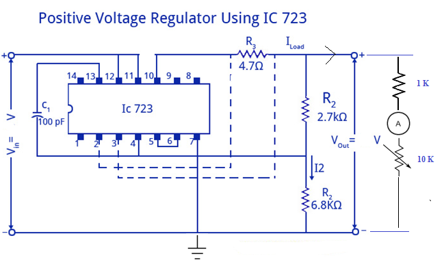 Ic Applications And Hdl Simulation Lab Notes Voltage Regulator