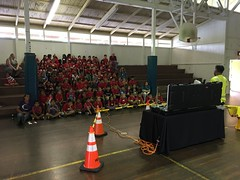 Hawaii Electric Light visits Pahoa Elementary - October 20, 2016