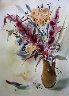 Watercolor etude