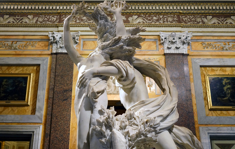 Bernini, Bernini, Apollo and Daphne