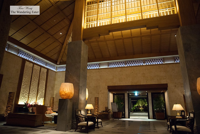 Interior of the huge lobby