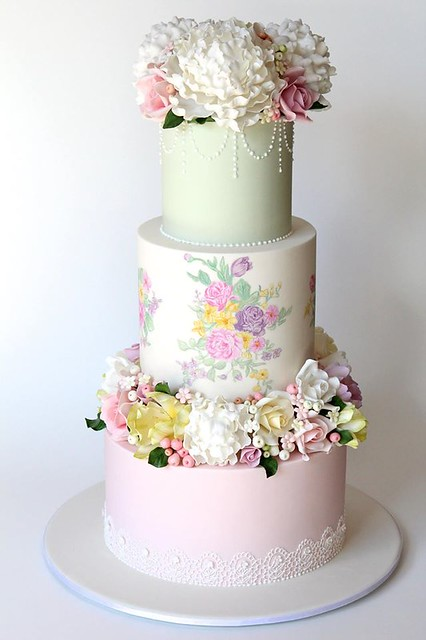 Wedding Cake from Creative Cakes by Julie