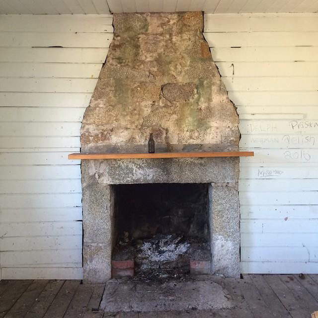 Eddystone Point. Fireplace.