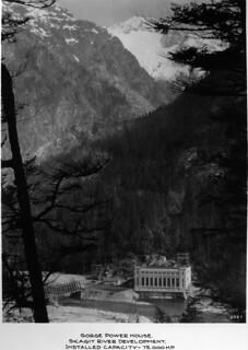 Gorge Power House, 1930