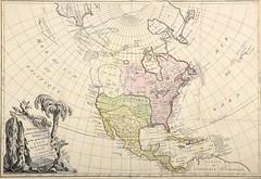 L'Amerique septentrionale divisée en ses principaux Etats / Par le Sr. Janvier géographe. - 1762.