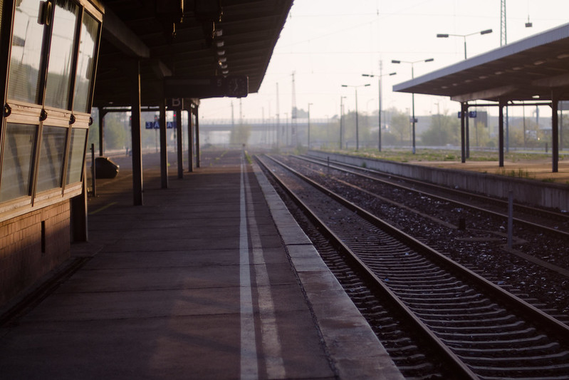 morgenbahnsteig