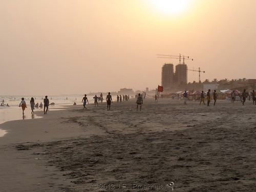 africa sunset beach ghana accra labadi labadibeach