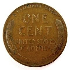 Lincon Cent reverse