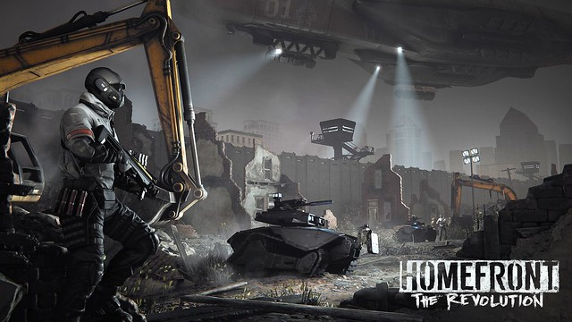 Шутер Homefront: The Revolution выйдет на PS4