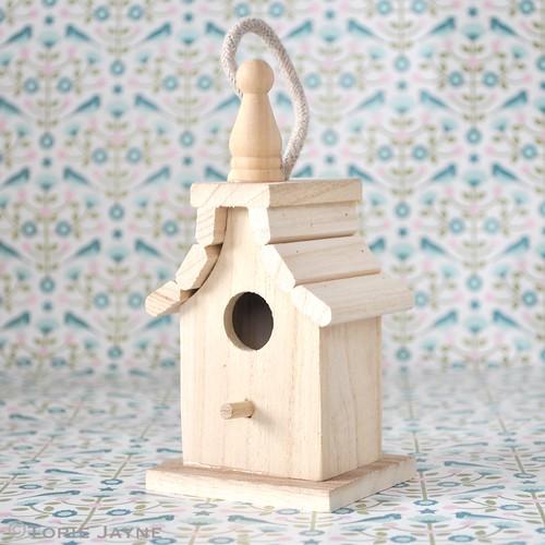 Decorative mini bird house